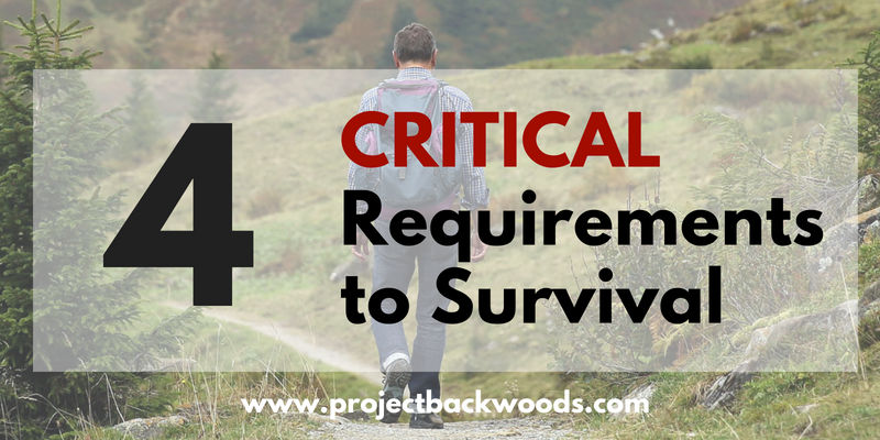 4 Critical Requirements to Survival