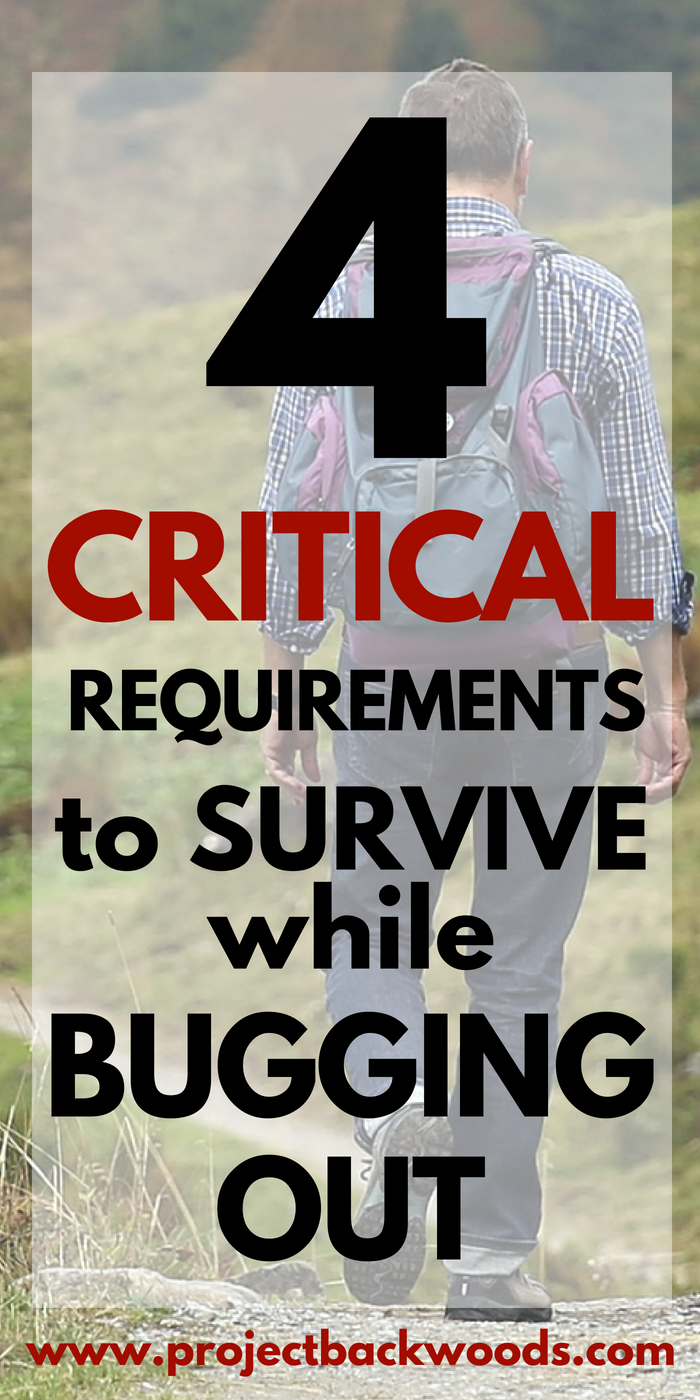 When we're talking about critical survival requirements, there are a few things to keep in mind.  We've put together the basics in this post; and, the first 4 listed are not optional. They are an absolute survival requirement (including in everyday life, let alone an emergency or disaster situation).